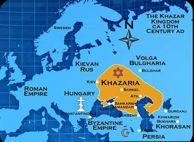 Khazaria – Kriminal Klass Sowing Terror Murder Deceit and Lies from  750 –2018