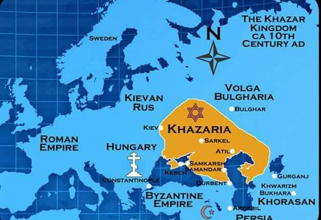 Khazaria – Kriminal Klass Sowing Terror Murder Deceit and Lies from  750 – 2018
